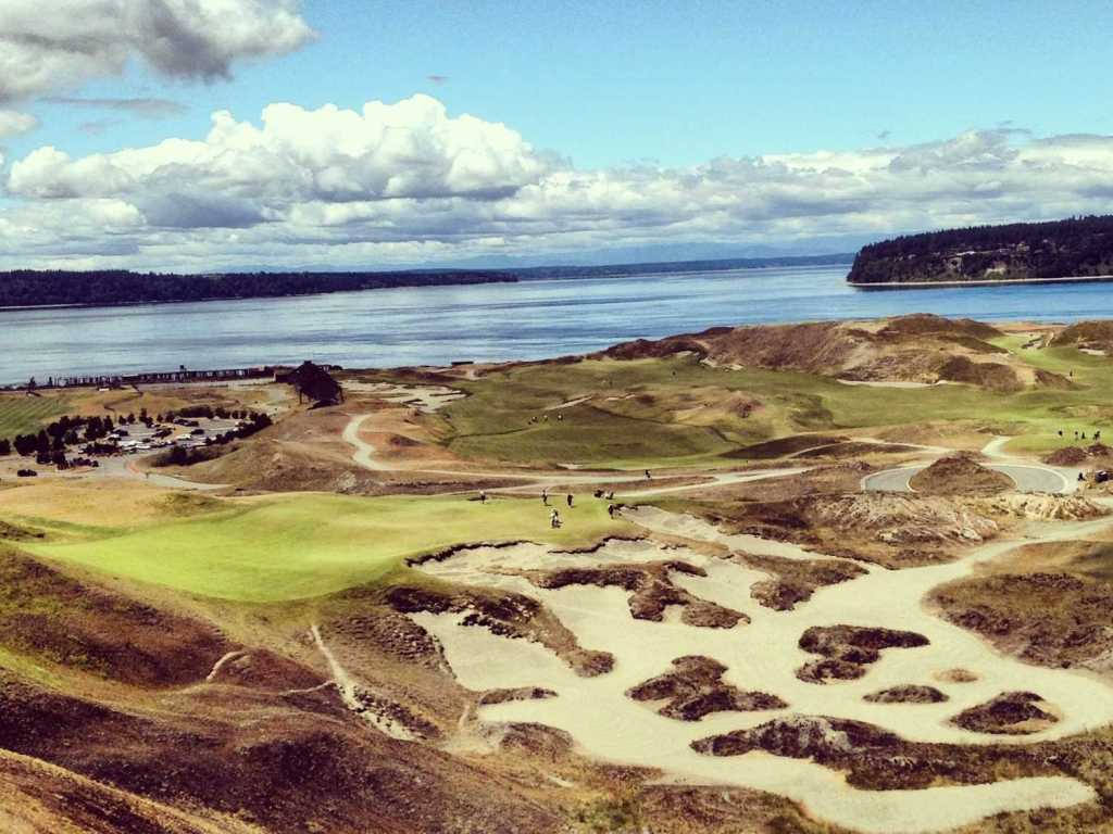 The Chambers Bay golf course in University Place, Washington (Photo: Business Insider)
