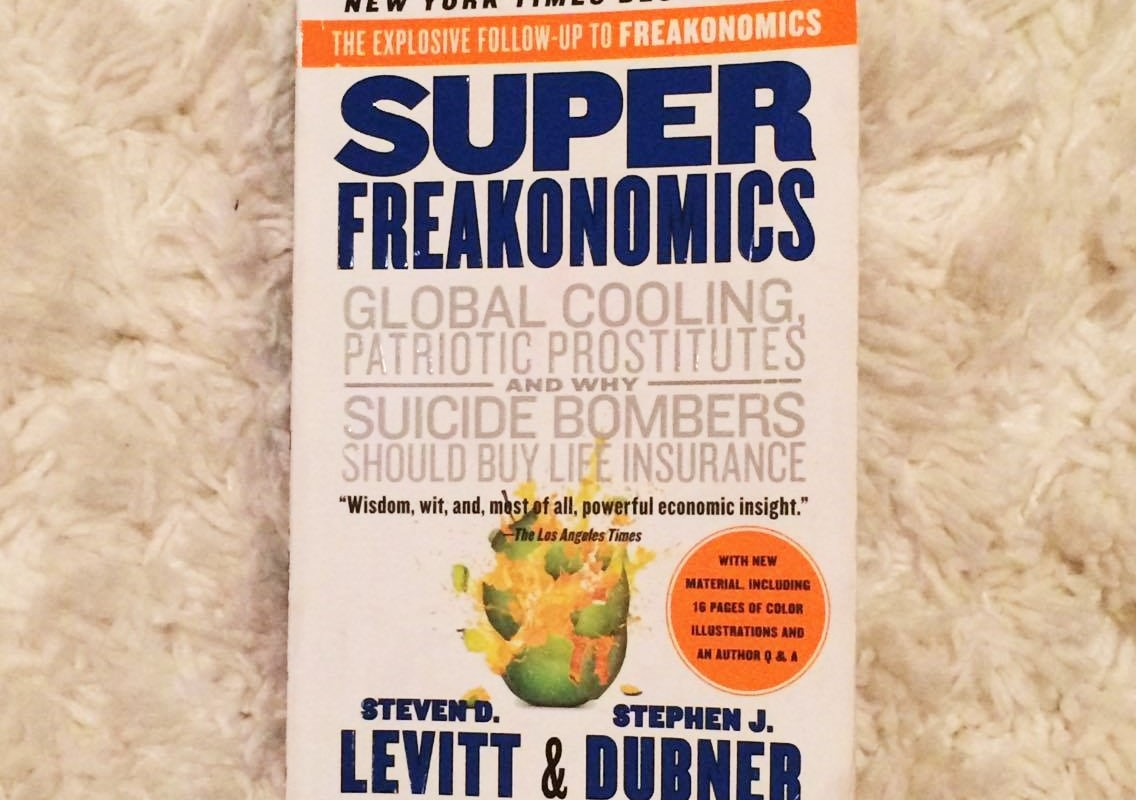 Riss Reads: Super Freakonomics