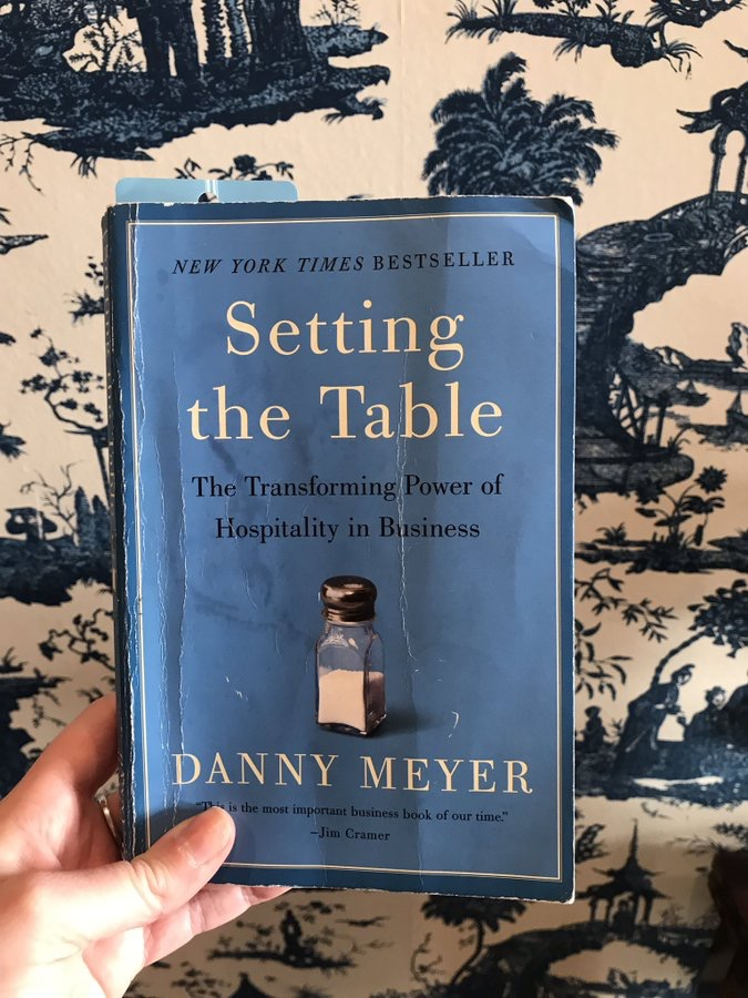 : setting the table by danny meyer - Pezcame.Com